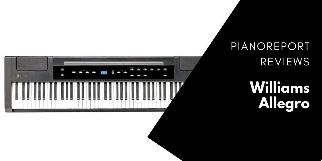 williams allegro digital piano reviewed in 2017 pianoreport. Black Bedroom Furniture Sets. Home Design Ideas